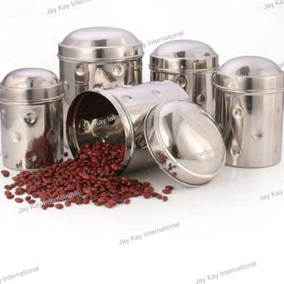 Bubble Canister Set of 5 Code:- JKCS-2181