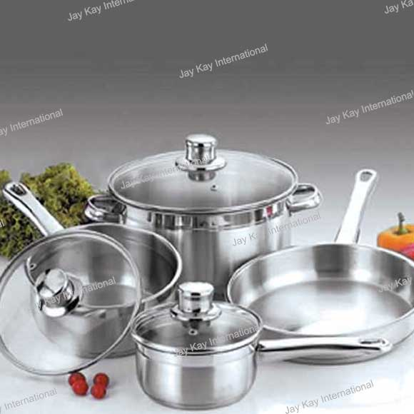 7 Pc Professional Cookware Set Code:- JKCW-2391